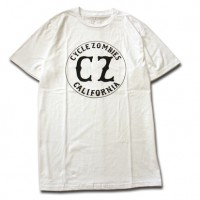 CALIFORNIA Premium S/S TEE[CYCLE ZONBIES]White