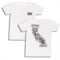 CALIFORNIA TEE【DEATH SQUAD】WHITE