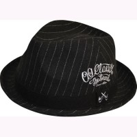 WORLD STRIPE HAT【OG CLASSIX】BLACK