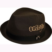 OG SMOKING COTTON HAT【OG CLASSIX】BROWN