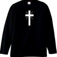 CROSS LOGO L/S TEE【THE C/S PROJECT】