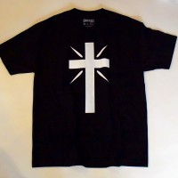 CROSS LOGO S/S TEE【THE C/S PROJECT】BLACK