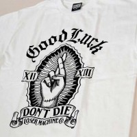 DON'T DIE S/S TEE【LOSER MACHINE】WHITE