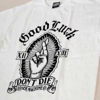 DON'T DIE S/S TEE【LOSER MACHINE】WHITE