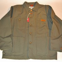 4Q×4STAR MAX SCHAAF CHORE COAT【4Q CONDITIONING】RAW OLIVE