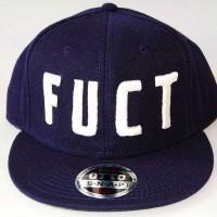 FUCT LOGO CAP【FUCT/SSDD】NAVY