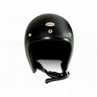 Beetle500-TX JET HELMET【OCEAN BEETLE】Mブラック/シングルストラップ