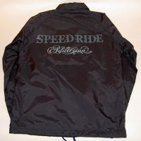 SPEED RIDE COACH JACKET【ADDICTION】BLACK