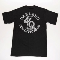 "4Q ""SNAKE LOGO"" POCKET S/S TEE【4Q CONDITIONING】BLACK"