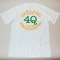 LOGO S/S POCKET TEE【4Q CONDITIONING】WHITE×ATHLETICS