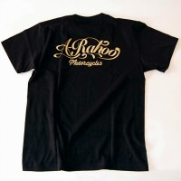 2015オリジナルS/S TEE SHIRTS【A-Rahoo Motorcycles】BLACK×GOLD