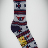 Outlaw Socks【LOSER MACHINE】GREY