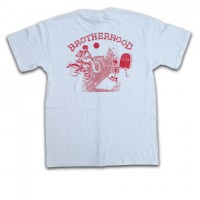 """BROTHERHOOD"" S/S Tシャツ【4Q CONDITIONING】WHITE"