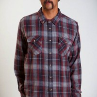 Ajax【LOSER  MACHINE】heavyweight flannel shirt