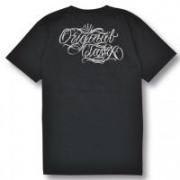 ORIGINAL SCRIPT POCKET TEE【OG CLASSIX】BLACK