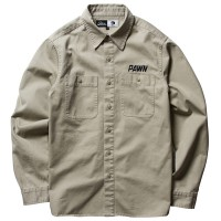 GO POWER SHIRT【PAWN】BEIGE