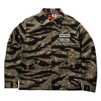 TIGER CAMO ZIP UP JACKET【PAWN】CAMO