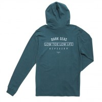 AVANT-GARDE FITTED HOODED LONG SLEEVES【DARK SEAS】DEEP ATLANTIC