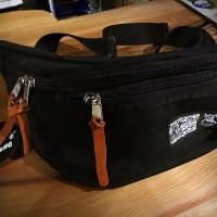 W-NAME Waist Bag【BRINGITS】BLACK