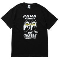 PAWN×MOONEYES TEE 93602 【PAWN】BLACK