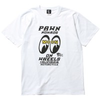PAWN×MOONEYES TEE 93602 【PAWN】WHITE