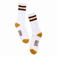 Pacer Socks【LOSER MACHINE】WHITE/GOLD