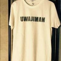 UWAJIMAN STENCIL OG TEE【RITZNAIL】WHITE