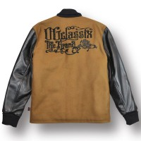 CORPORATE ROSE STADIUM JACKET【OG CLASSIX/オージークラシックス】BEIGE BROWN