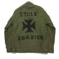 サイクルゾンビーズ IRON CROSS Used Military Jacket A2【CycleZombies】sizeM