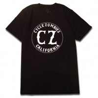 CALIFORNIA Premium S/S TEE【CYCLE ZOMBIES】Black