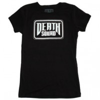 TRADEMARK WOMENS SHIRT【DEATH SQUAD】BLACK