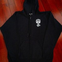 ZIP HOOD【SUICIDAL×DOGTOWN】BLACK