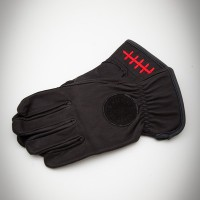 Death Grip Leather Gloves Black【LOSER MACHINE】
