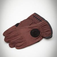 Death Grip Leather Gloves Brown【LOSER MACHINE】