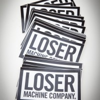 Loser Box Sticker – Large【LOSER MACHINE】