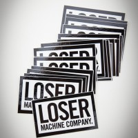 Loser Box Sticker – Small【LOSER MACHINE】