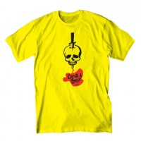 DRAINED S/S TEE【CYCLE ZOMBIES】YELLOW