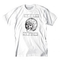 LIZARD'S EYE S/S TEE【CYCLE ZOMBIES】WHITE