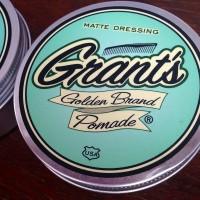 MATTE DRESSING【GRANT'S GOLDEN BRAND POMADE】