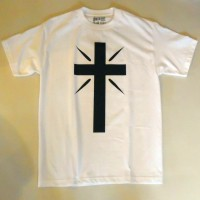 CROSS LOGO S/S TEE【THE C/S PROJECT】WHITE