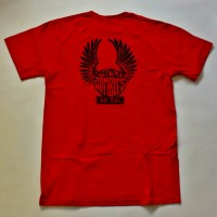 EASYRIDER-PREMIUM S/S TEE【CYCLE ZOMBIES】RED