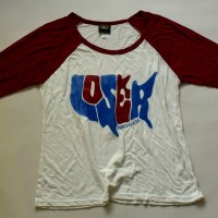 WOMENS NUBBY RAGLAN【LOSER  MACHINE】