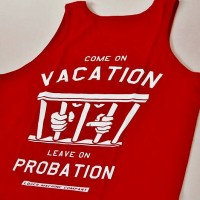 Probation Tank Top【LOSER MACHINE】CARDINAL