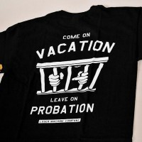 Probation Stock Tee【LOSER MACHINE】BLACK