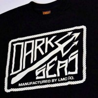 THE DOCK Ⅱ S/S TEE【DARK SEAS】BLACK