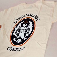 WARSAW S/S TEE【LOSER MACHINE】CREAM