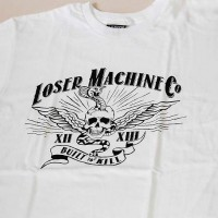 BUILT TO KILL S/S TEE【LOSER MACHINE】WHITE