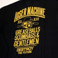 GENTS S/S TEE【LOSER MACHINE】BLACK