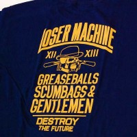 GENTS S/S TEE【LOSER MACHINE】NAVY