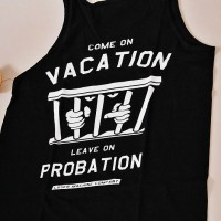 Probation Tank Top【LOSER MACHINE】BLACK